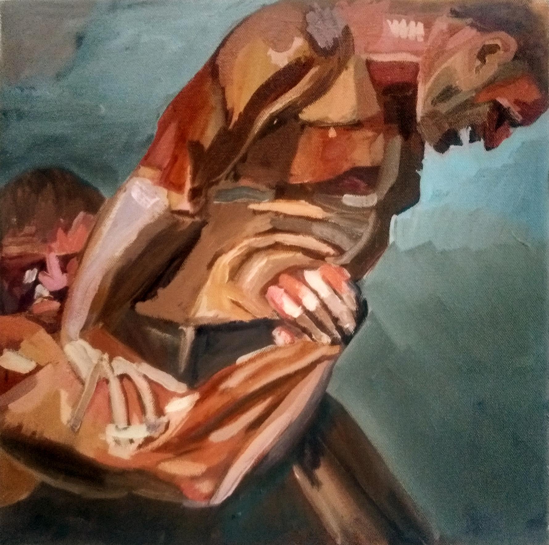 "Angela Kremer - No. 21   30"" x 30"" / oil on panel / $250"