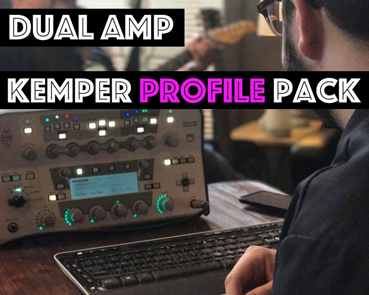 Dual Amp Pack - The Dual Amp Kemper Profile Pack combines the sounds of some of our favorite amps. We've paired these amps together for their complimentary voices, giving you wide, full sounding profiles that feel like your plugged into two amps at once!