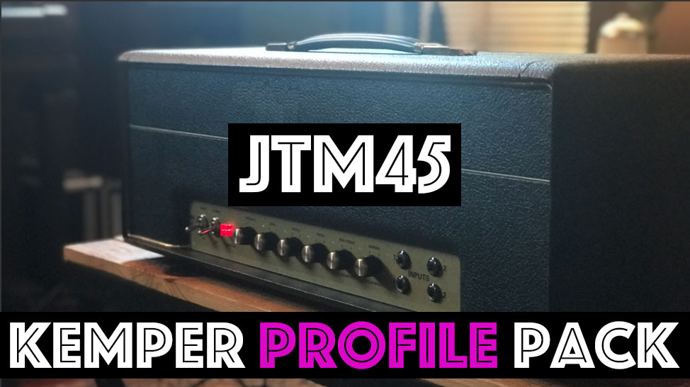 Now 50% OFF! - The JTM45 Kemper Profile Pack captures the sound of this KT66 classic. This profile pack features 41 profiles in 4 profile sets capturing every sound hidden within this classic design. Profiles marked