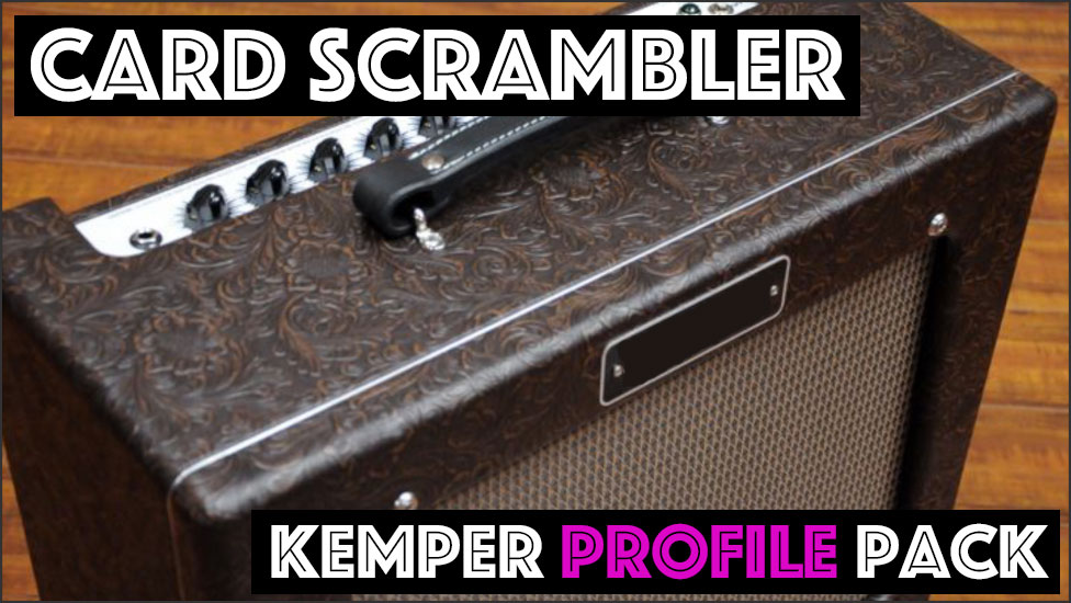 Card Scrambler - NOW ON SALE FOR $10!!!The Card Scrambler captures the sound of the zero feedback, Class A, 6L6, boutique favorite. This amp is a boutique take on the classic