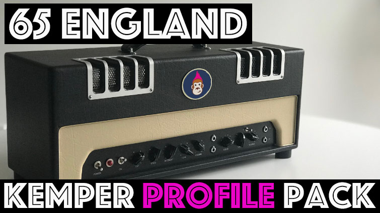 65 England Pack! - The 65 England Pack combines two low wattage classic British circuits. The 12AX7 side is reminiscent of old M******** 18 Watter combos, while the EF86 side is chimey, with an upper mid push. This is an exceptional sounding pack for classic EF86 British tones because of the numerous profiles created using the 6 way rotary tone switch!* - profiled with the gain boost in the