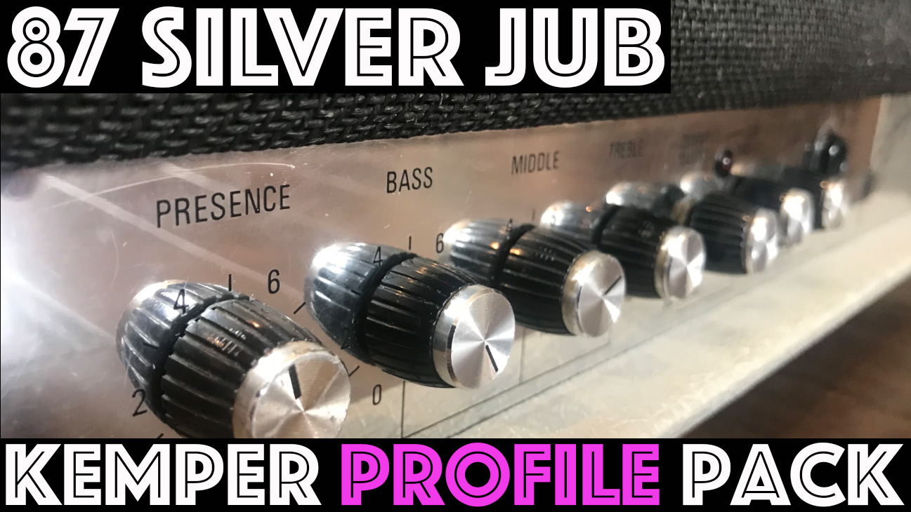 87 Silver Jub!!! - The 87 Silver Jub Pack seeks to capture the tone of the late 80's classic amplifier adorned with it's iconic silver tolex. These are modern classics and have appeared on countless rock records from GNR, Joe B. and Chilli Peppers. This pack is a Rock Masterpiece!!! We've captured 29 Studio profiles along with 14 direct profiles….
