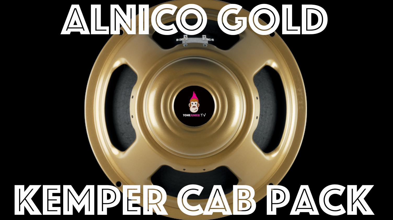 The Alnico Gold Kemper Cab Pack features 10 close mic'd captures of a 2x12 Alnico Gold and they pair perfectly with Tone Junkie Direct and Studio profiles.