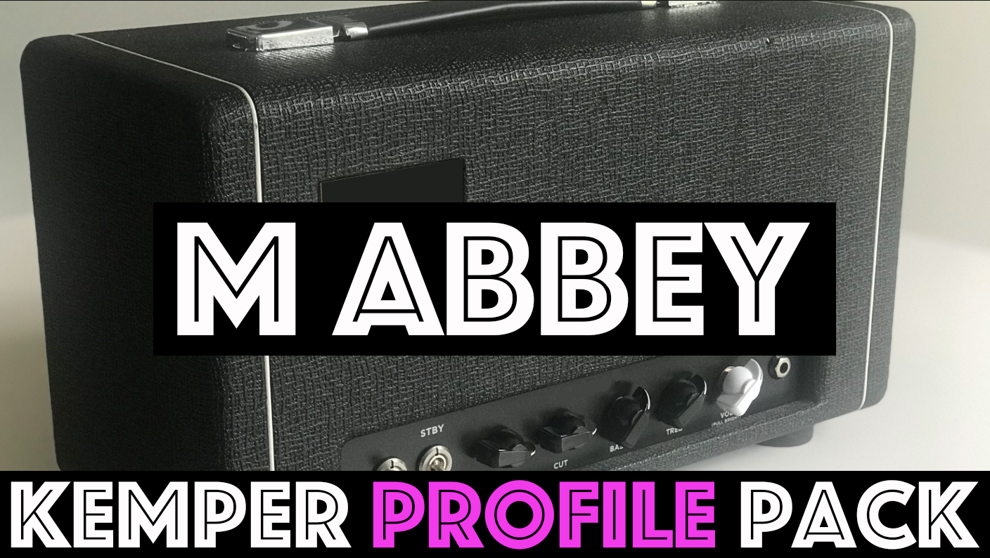 M Abbey Pack!!! - The M Abbey Kemper Profile Pack from Tone Junkie captures the tone of the classic Top Boost British amps from the 1960's. Made famous by so many classic recordings from acts including the Beatles, Tom Petty, and countless other iconic acts, this circuit gives up the Voxy goods in this chime-tastic top boosted flavor!