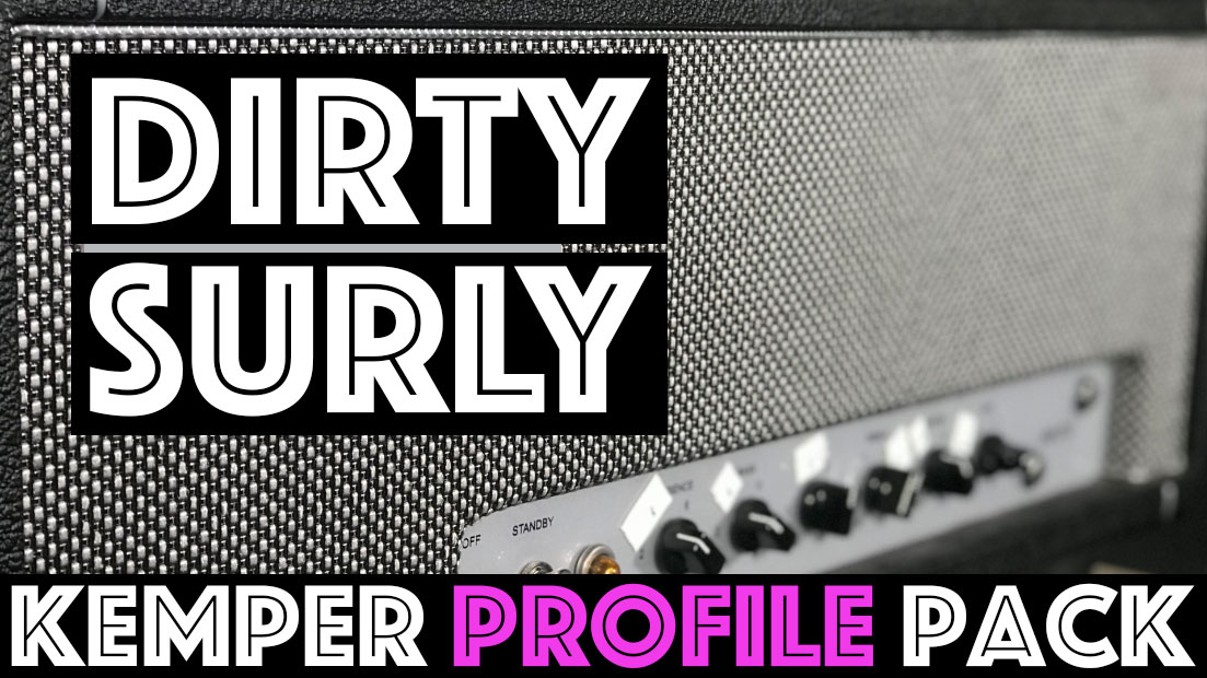 Dirty Surly!!! - The Dirty Surly Kemper Profile Pack seeks to capture the sound of the harmonically rich, British inspired, rock tone machine. The cleans and pushed cleans are perfect for those Hendrix Strat tones, Classic Plexi tones that will remind you on AC/DC or Zep, and all the way up to KISS. At the highest gain ranges these profiles push into modern rock territory….