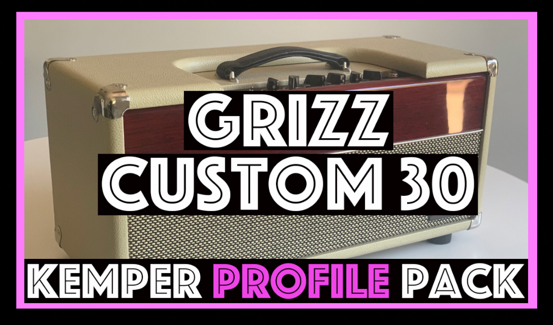 Grizz Custom 30 - The Grizz Custom 30 Kemper profile pack seeks to capture the sound of a very unique and harmonically rich circuit powered by 4 EL84s. Borrowing from several vintage circuits to achieve a tone, this circuit employs a numbers of switches and controls that make is a versatile tool for studio and live players alike…