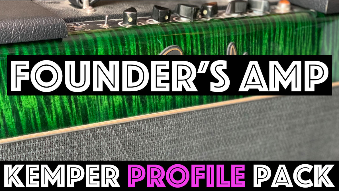 Founder's Amp!!! - NEW RELEASEThe Founder's Amp Kemper Profile Pack seeks to capture the sound of the a PRS Paul's Amp head. This pack contains fat clean tones with warm piano like cleans and warn overdrive that are especially thick sounding with plenty of cutting midrange. Between the Cleans and Dirty Channels, the profiles in this pack can move freely between American and British tones….