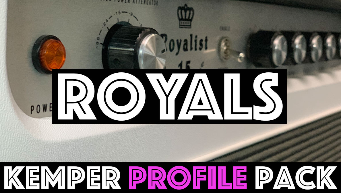 Tone Royalty!!! - NEW RELEASEThe Royals Kemper Profile Pack Seeks to capture the sound of a Tone King Royalist 15. These profiles deliver Marshall informed tones that seem far more refined and boutique bluesbreaker but with a bit of Vox chime built in. We've captured this circuit at a bright EQ setting and a Normal EQ setting, plus we have added 3 boost for each Normal EQ setting giving you a range of boosted and non boosted tones…