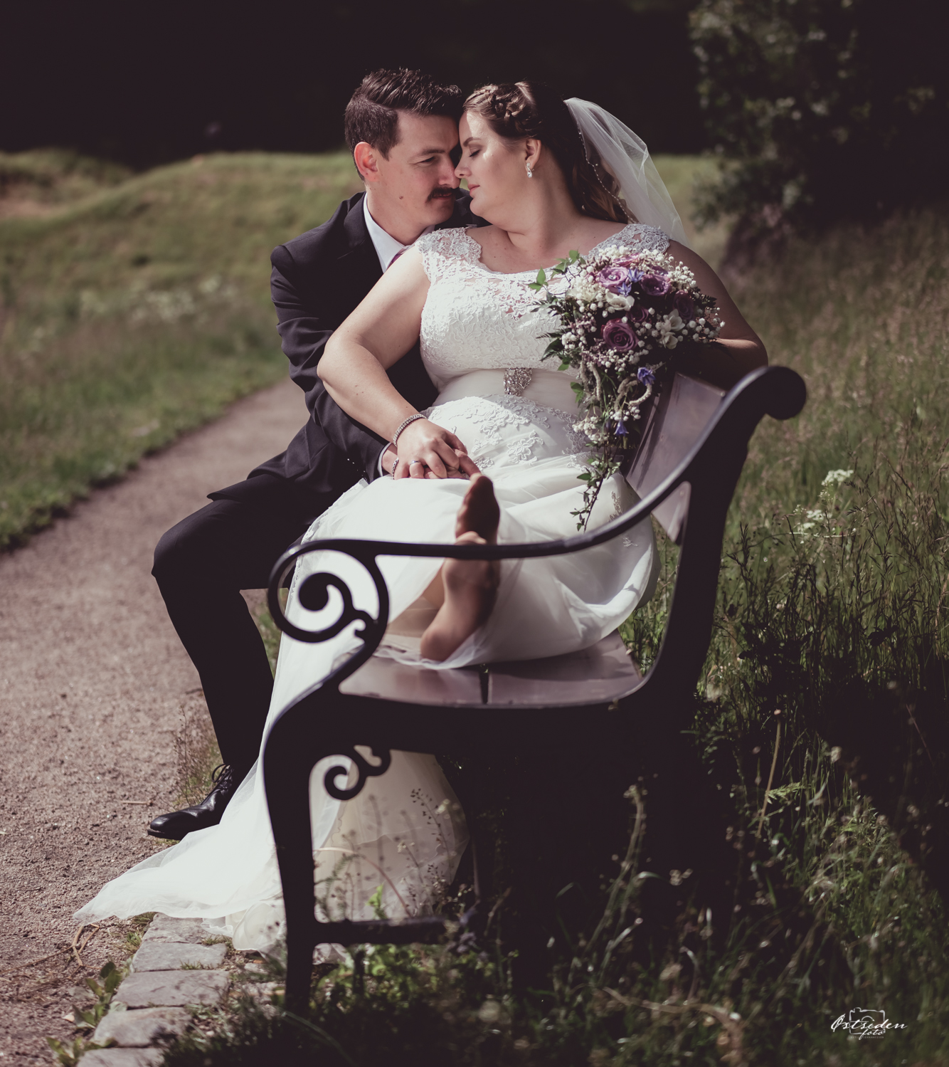 Bryllupsfotografering - Gamlebyen, Fredrikstad