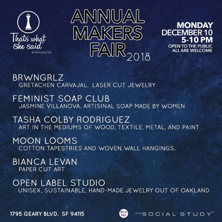 2018 Makers Fair Flyer v1