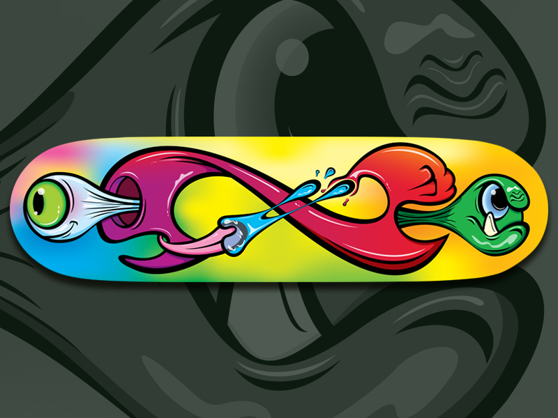 Infinite Madness Skateboard Deck