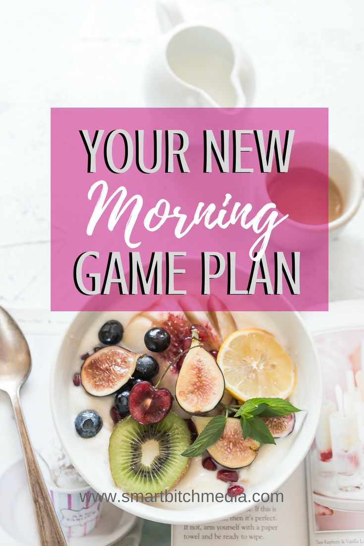 Your new morning game plan for success. #success #successtips #routine #morningroutine