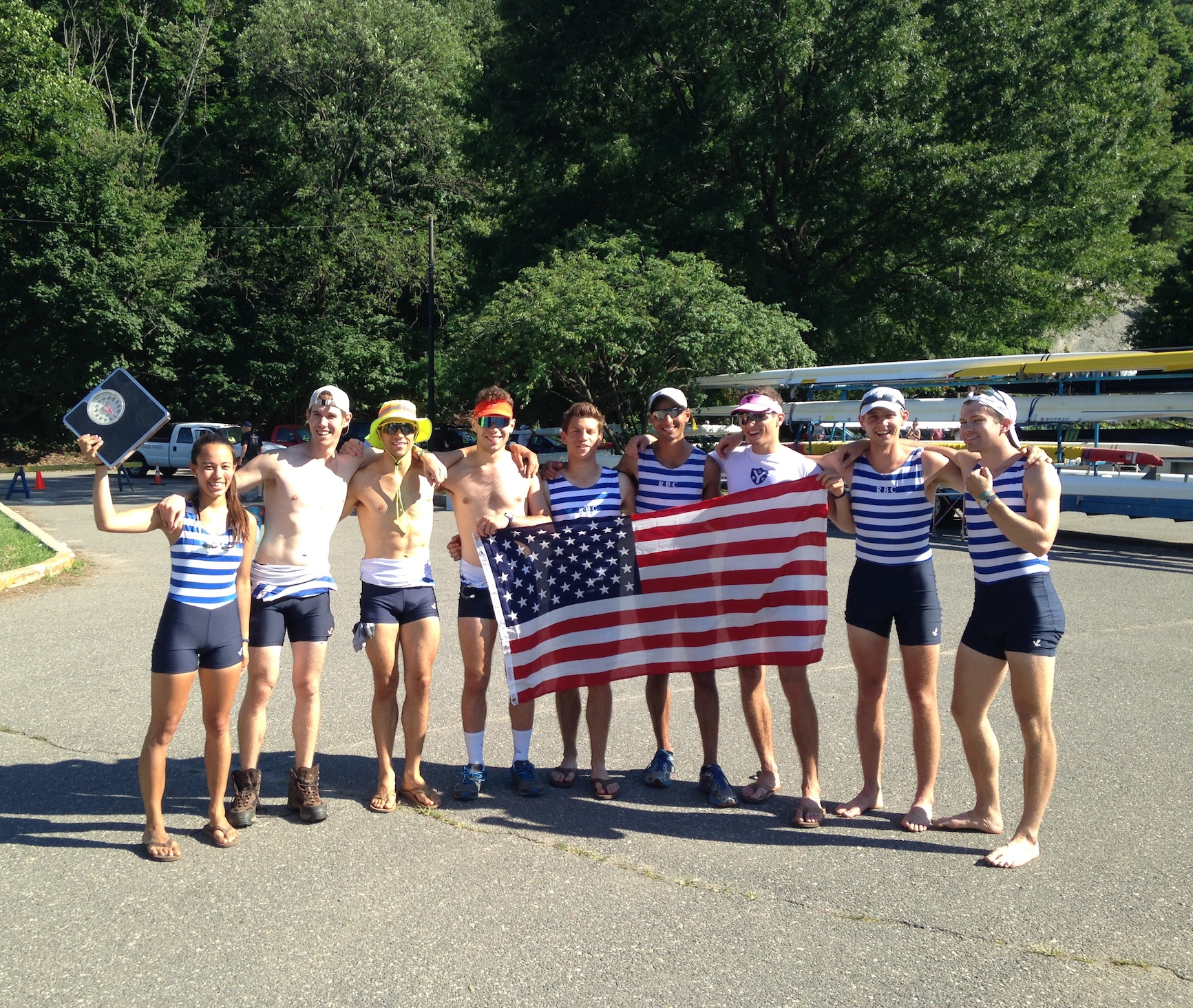 Riverside Men's Lightweight 8+