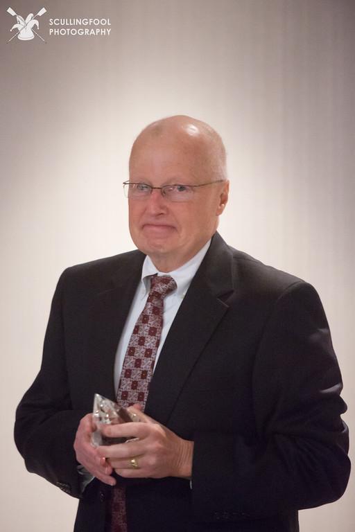 Jim Hanley receiving RBC's Lifetime Achievement Award