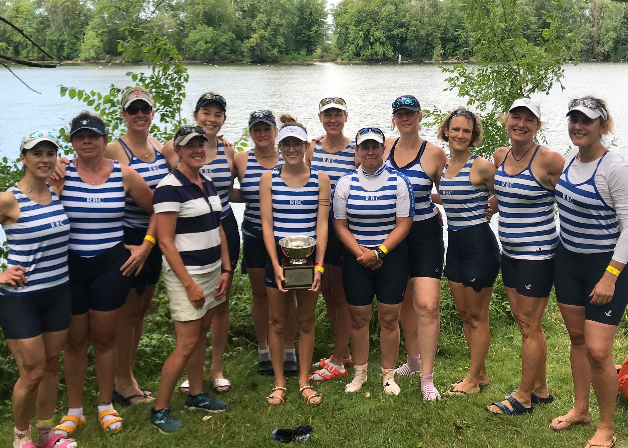 Women's Masters Team and Coach Jessica Smith