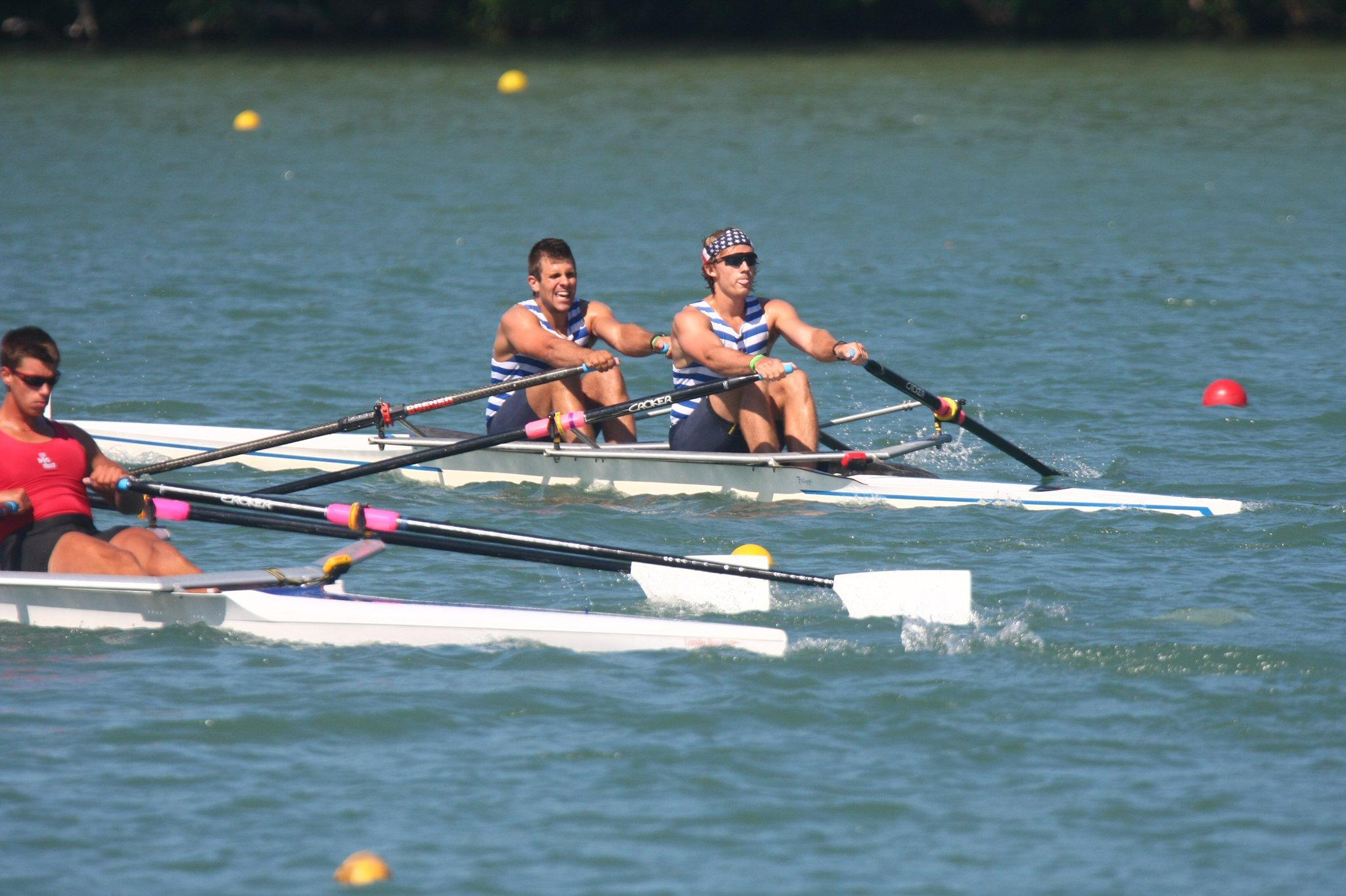 Sayles (Stroke seat) in 2011 at Canadian Henley.