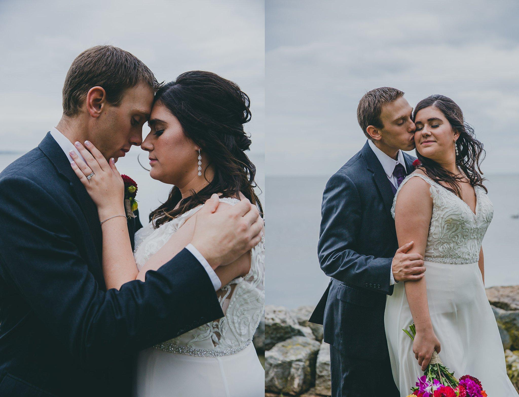 rainy wedding day photography wisconsin