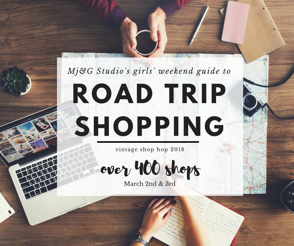 girls shopping road trip
