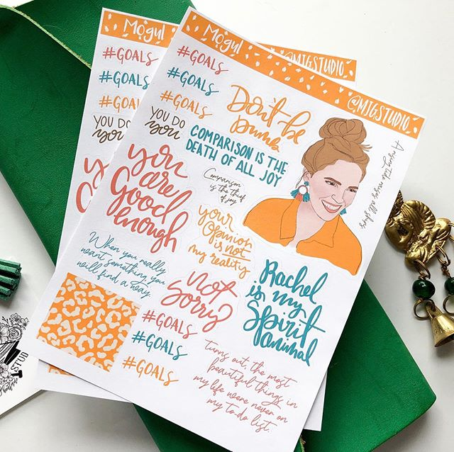 Little snippets of Rachel Hollis wisdom for your planner (or anywhere else you want to stick them). . . . . . #plannerstickers #plannerlove #erincondren #journal #journaling #bujo #plannerlife #plannernerd #plannerobsessed #planner #plannercommunity #washitape #love #studygram #bujolove #plannergoodies #planwithme #art #plannersupplies #happyplanner #stickers #plannerbabe #planning #travelersnotebook #plannerjunkie #planneraddict #bulletjournaling #stationery #plannergirl #bulletjournal