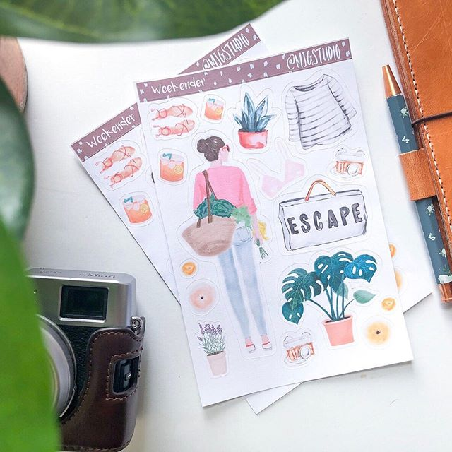 Thinking of planning a last bit of summer escape. . . . . . #stickers #travelersnotebook #studygram #plannerlife #plannerjunkie #bujolove #journal #calligraphy #plannerstickers #plannerobsessed #plannercommunity #planner #planneraddict #plannerlove #plannergirl #bulletjournal #journaling #planning #plannernerd #happyplanner #stationery #erincondren #planwithme #art #washitape #plannersupplies #bujo #love #bulletjournaling #plannergoodies