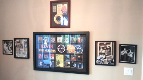 ETA  Brent Freeman's  Elvis memorabilia.