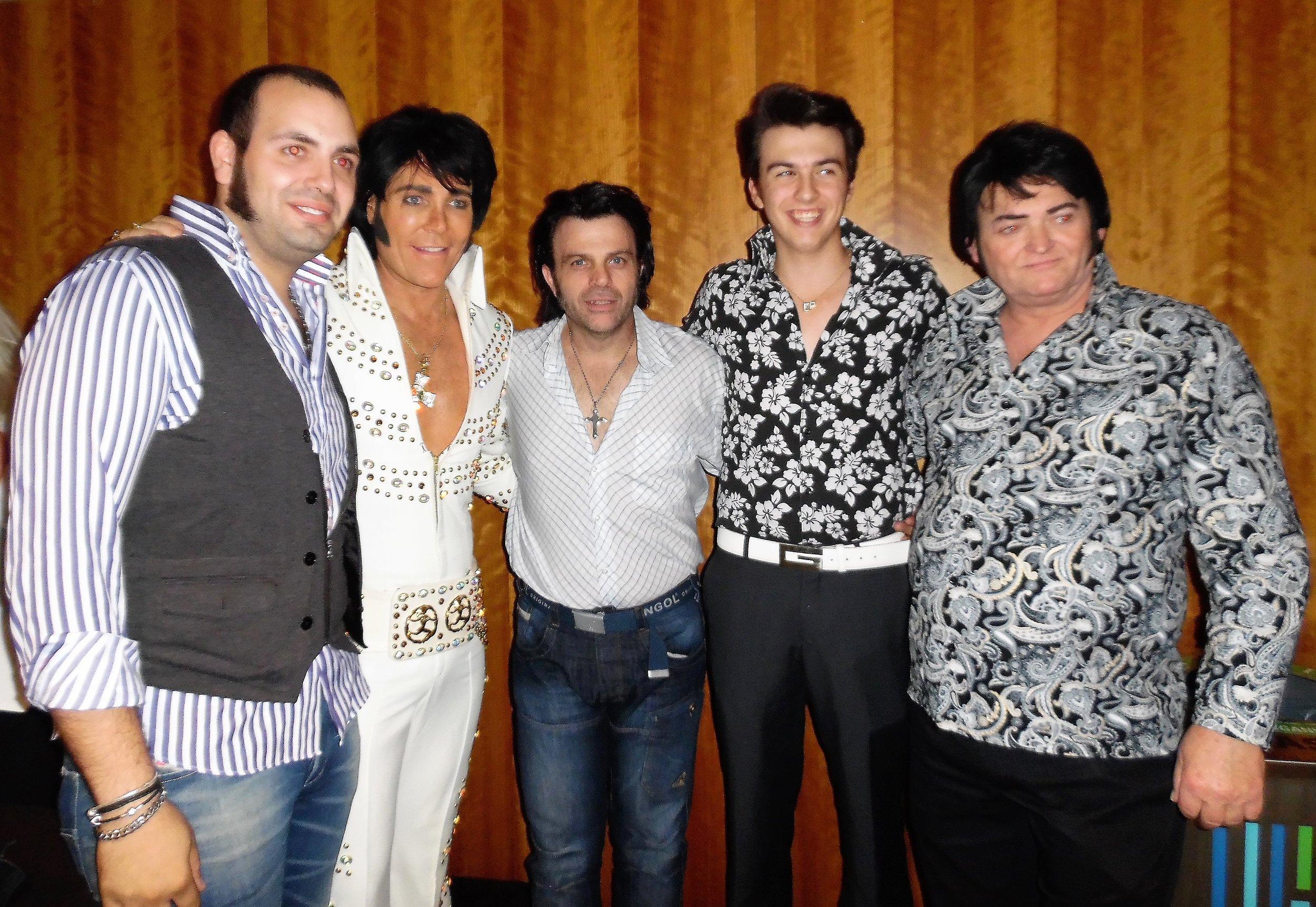 ETAs Bruno Nesci, Eric Evangelista, Rowan McLellan, and Gordie McNeil attended  Gordon Hendricks ' concert, Niagara Falls, October 21st, 2017.