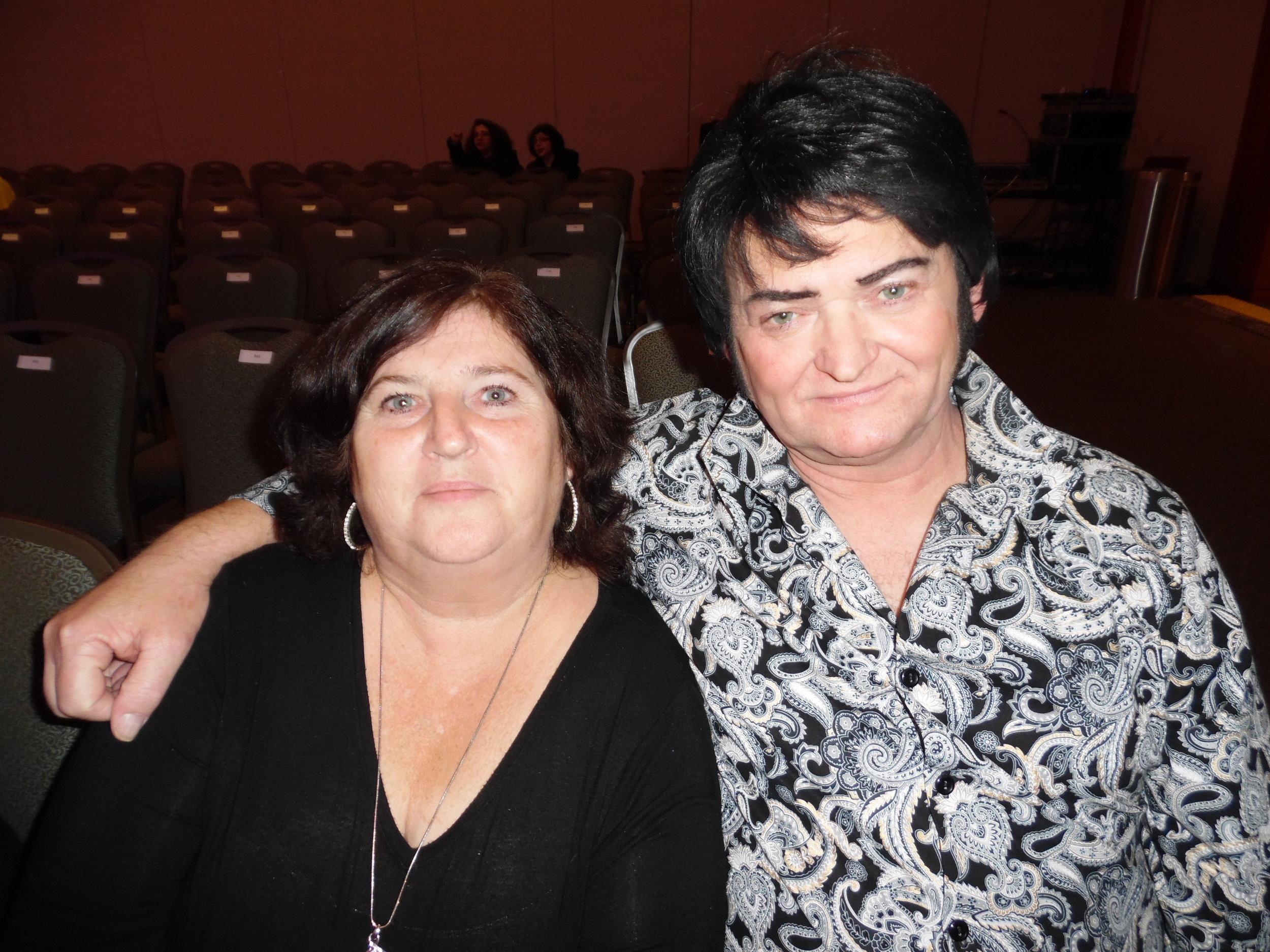 ETA  Gordie McNeil  and his wife, Lynn.