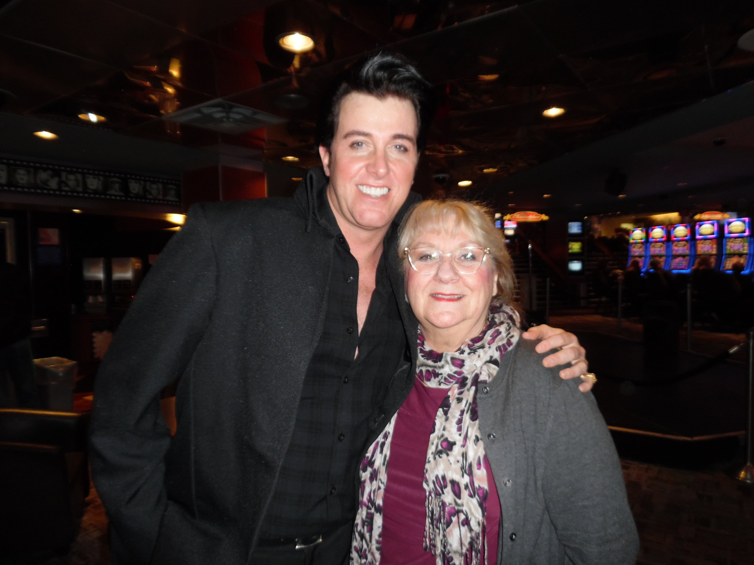 ETA  Matt Cage  and Carolyn. What a fabulous night of entertainment! Thanks, Matt!
