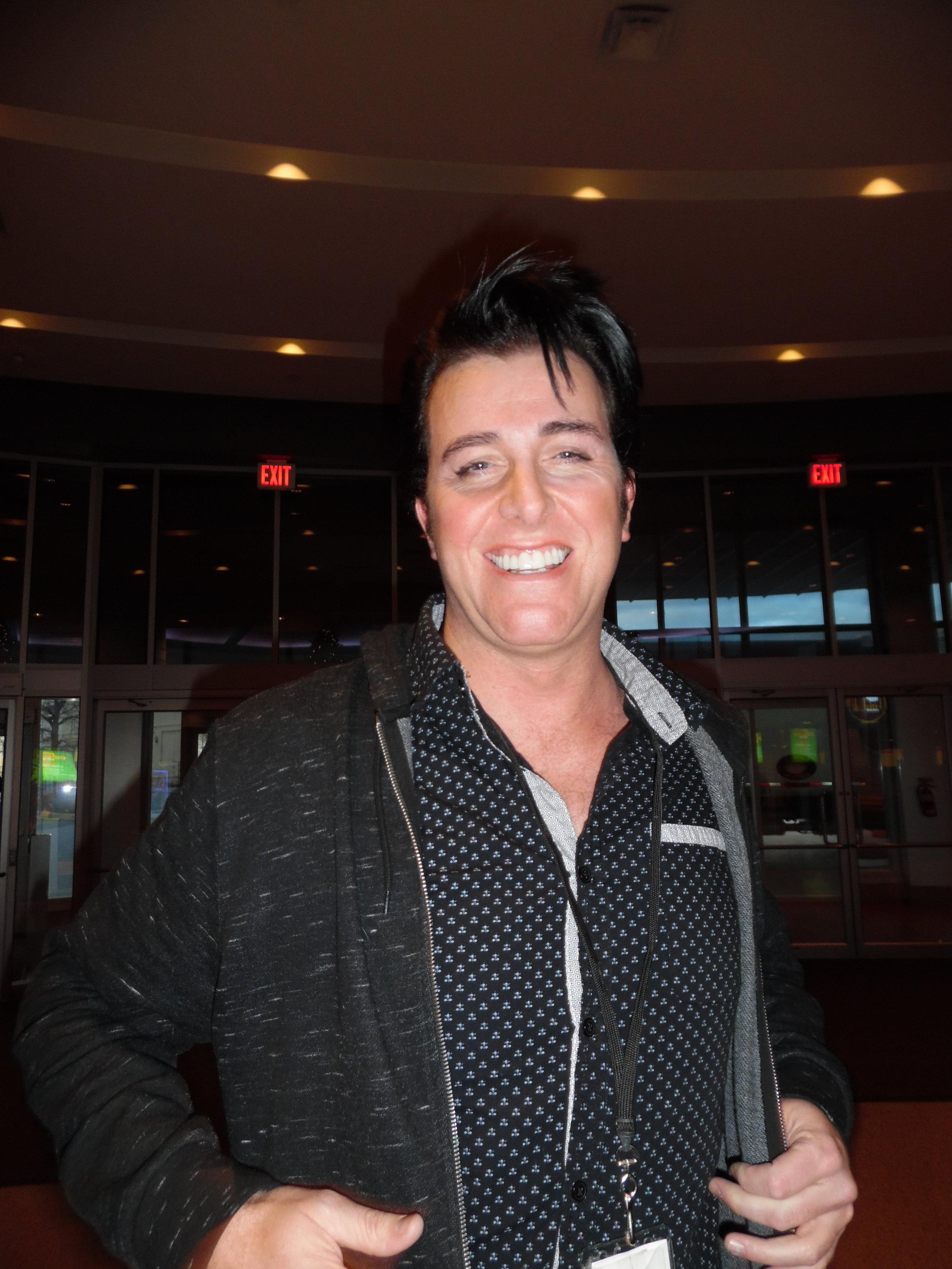 ETA  Matt Cage  during intermission at Casino Niagara, November 22nd, 2017.