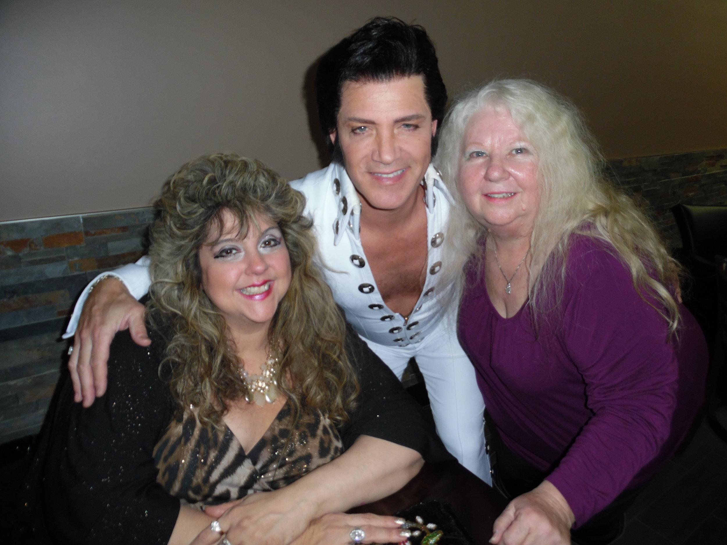 Sandra Gold, ETA  Kevin Mills , and Dot Farr at Flamboro Downs, December 15th, 2017.