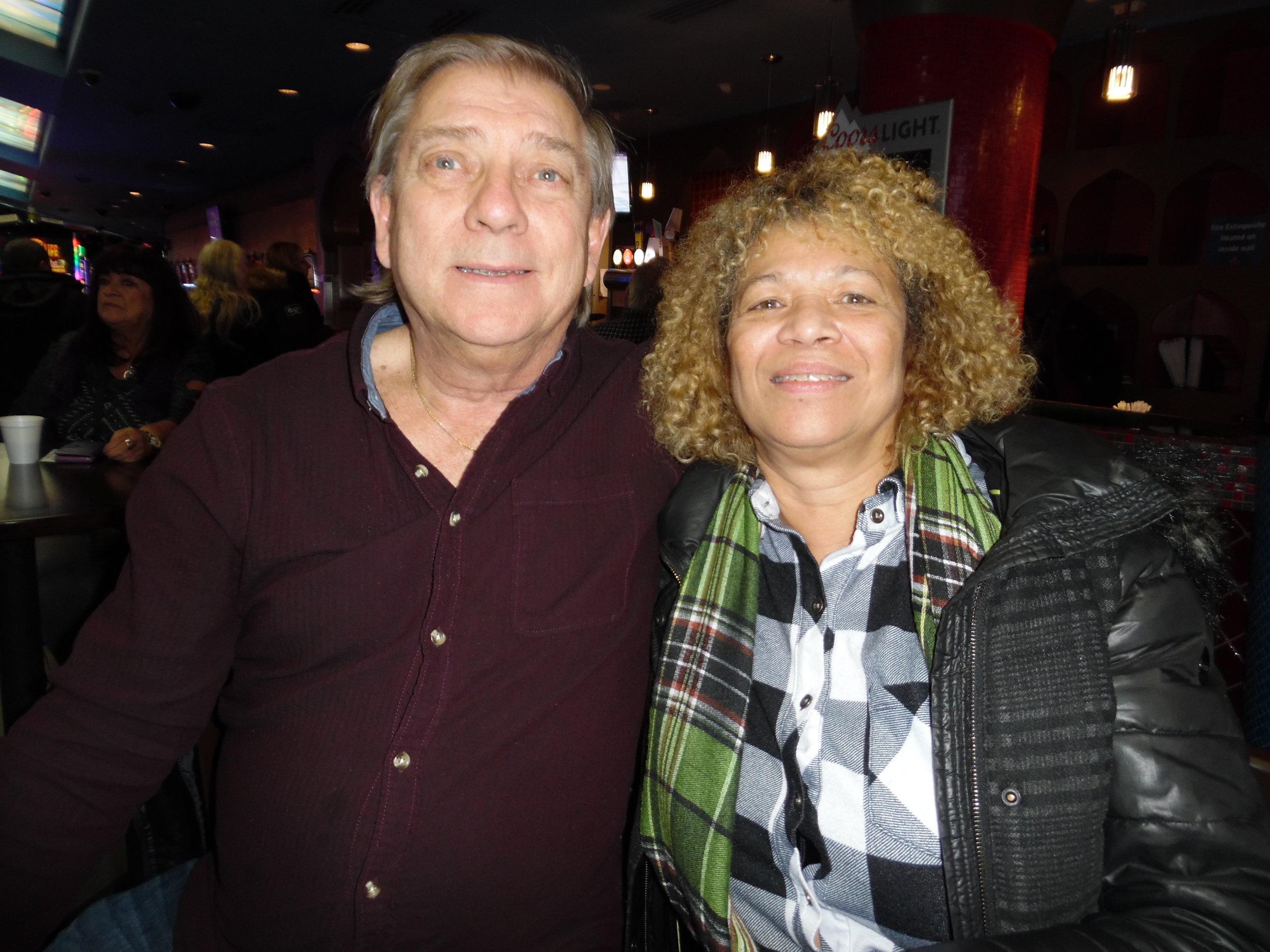 Carl Krebss and Deb Schiffner at ETA  Bruno Nesci 's Flamboro show.