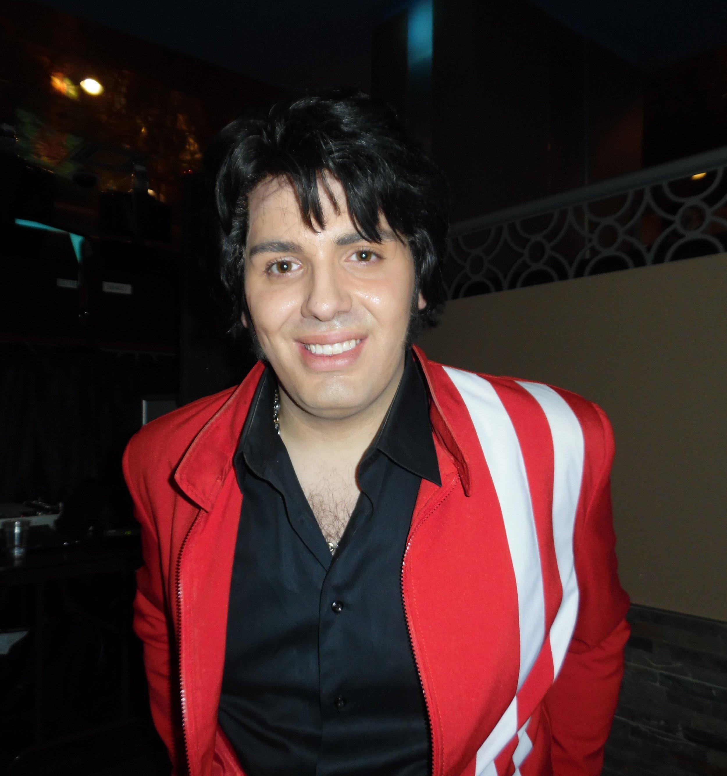 ETA  Bruno Nesci , Flamboro Downs, January 5th, 2018...cold night, warm audience, and hot entertainment!
