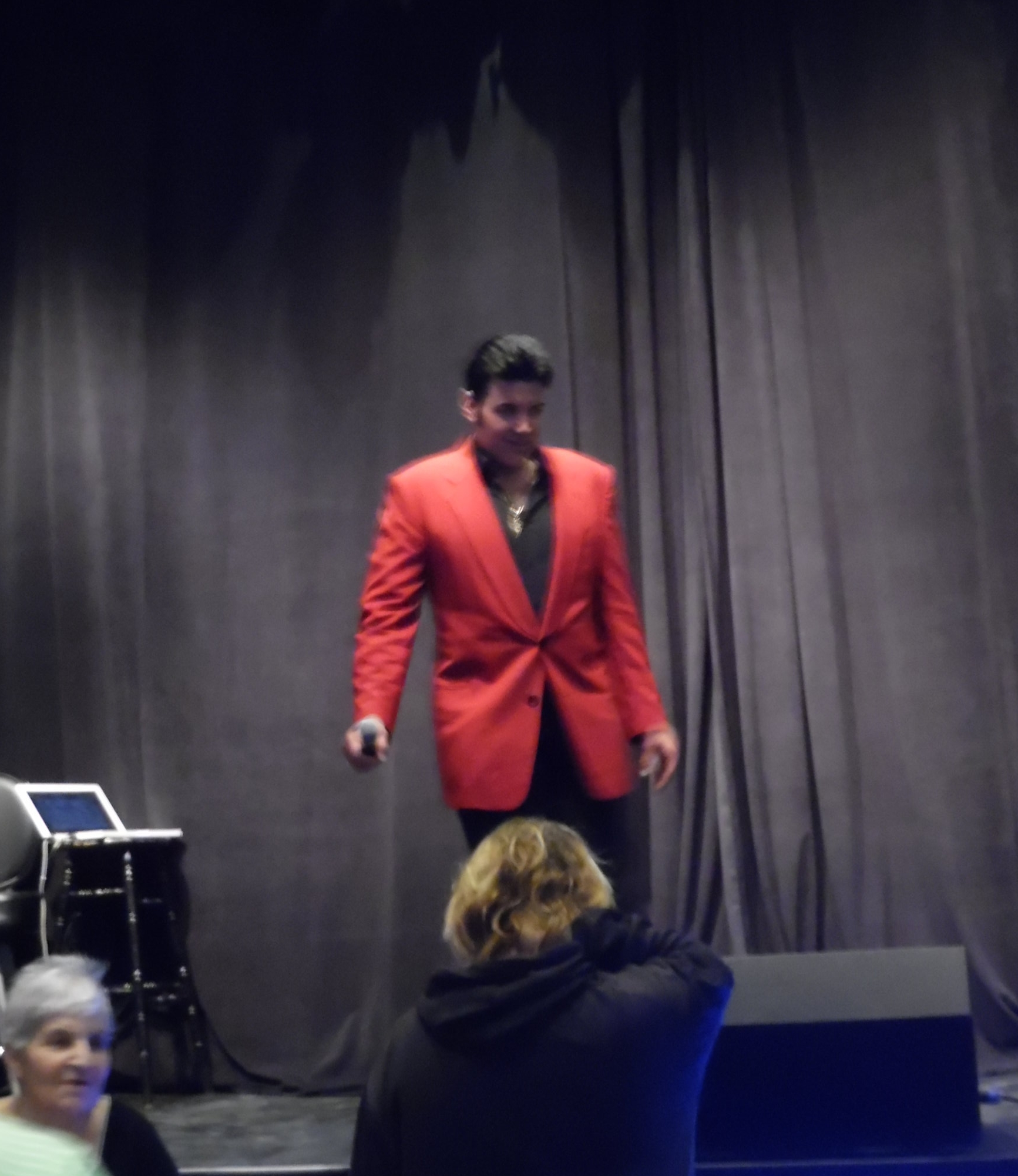 ETA  Gino Monopoli  dazzled fans on the Silver Aces stage with a fantastic performance.