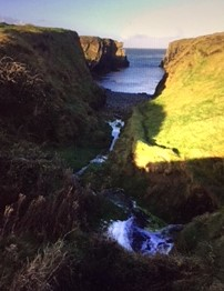 Beautiful Irish scenery.