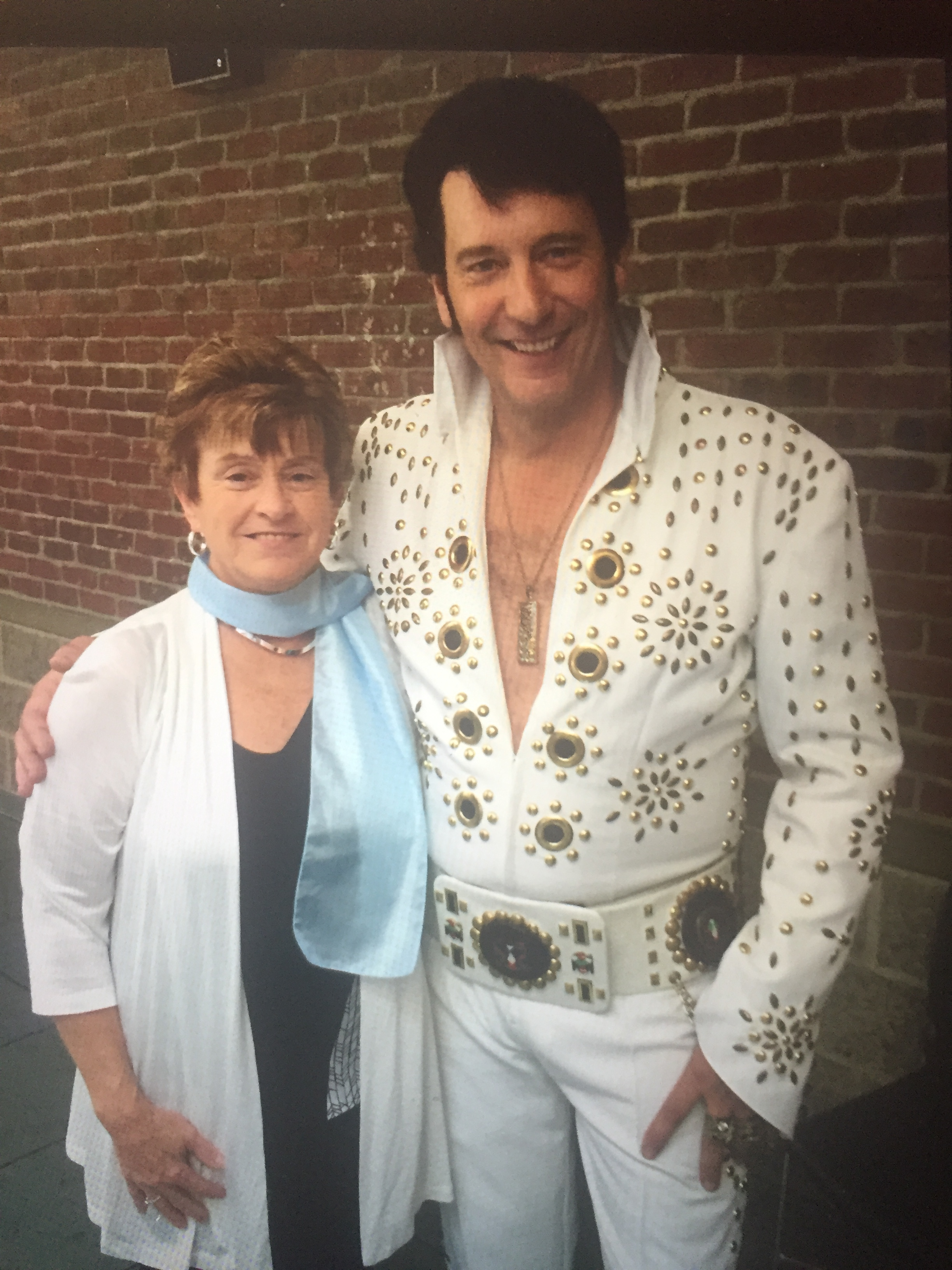 Agnes Hay and ETA Patrick Johnson.  Photo Credit: Agnes Hay.