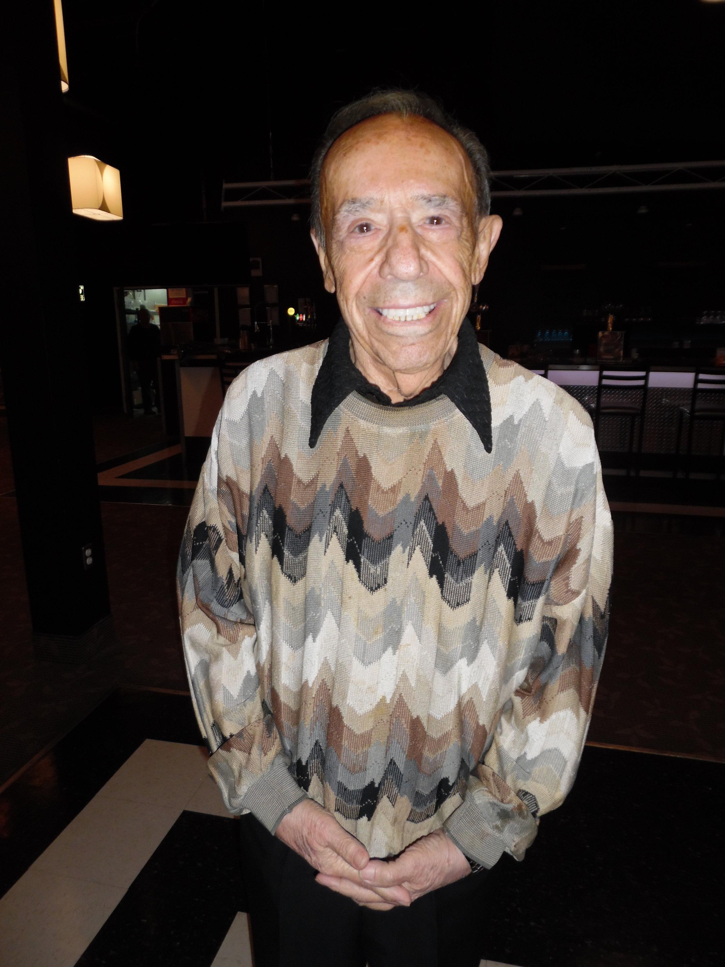 Frank Busseri at the Niagara Falls Elvis Festival in 2018.  Photo Credit: C. MacArthur.