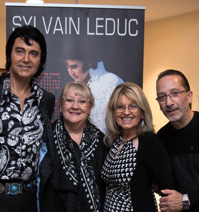 Sylvain, Carolyn, Sharon, and Theo.  Photo Credit: Lori-Anne Crewe, LA Crewe Photography.