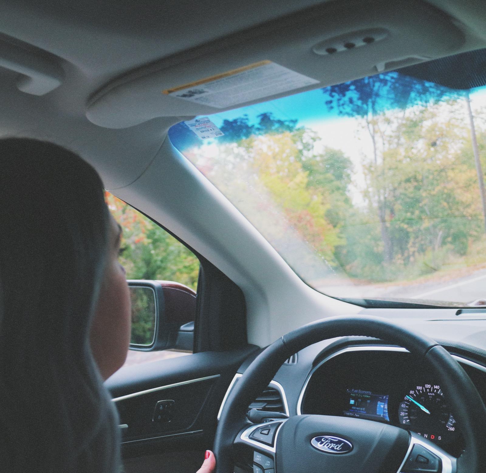 Bratty B Amy McKissock driving