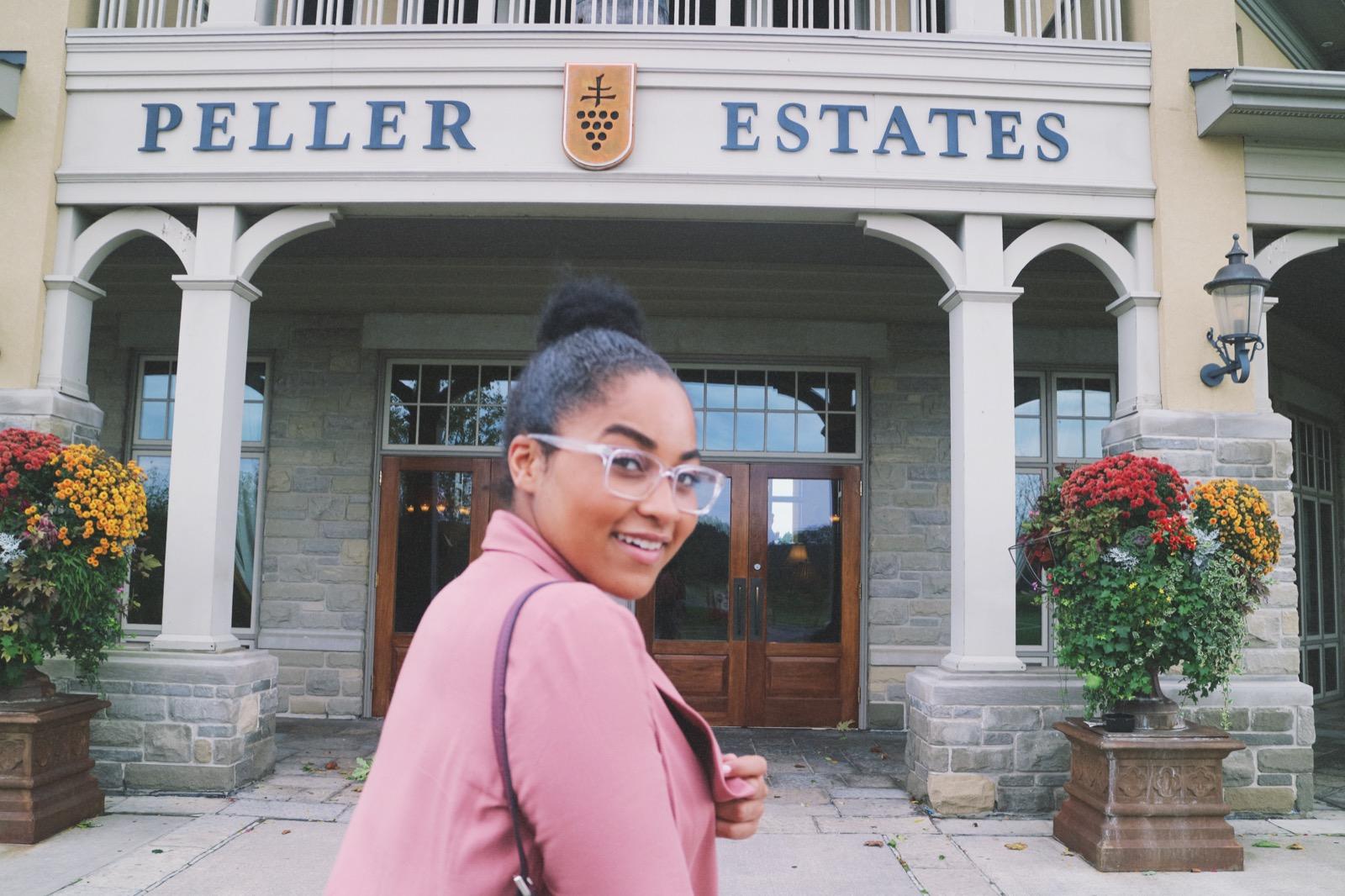 Elaisha Jade at Peller Estates Niagara-On-The-Lake