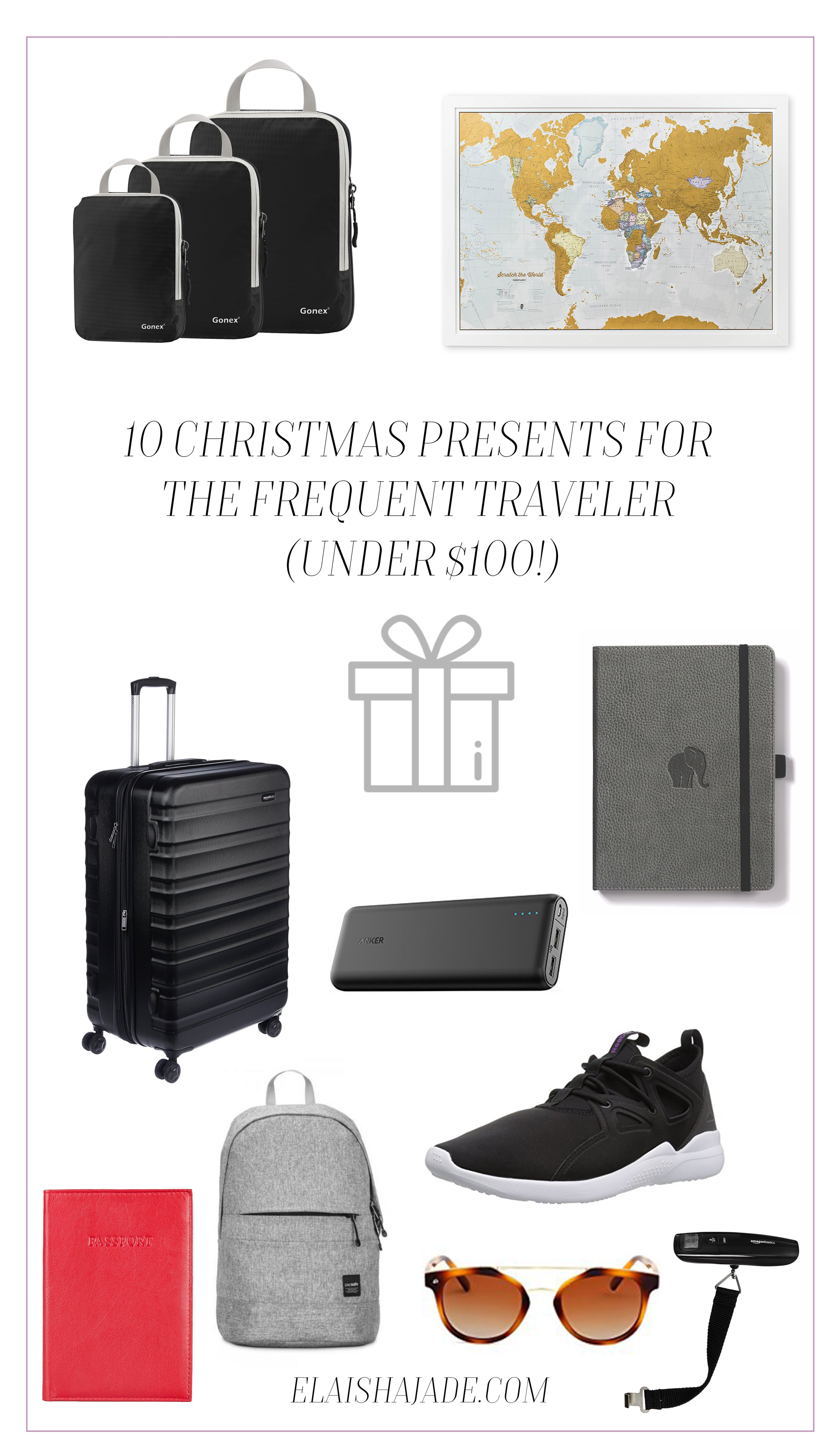 gift guide for frequent travellers