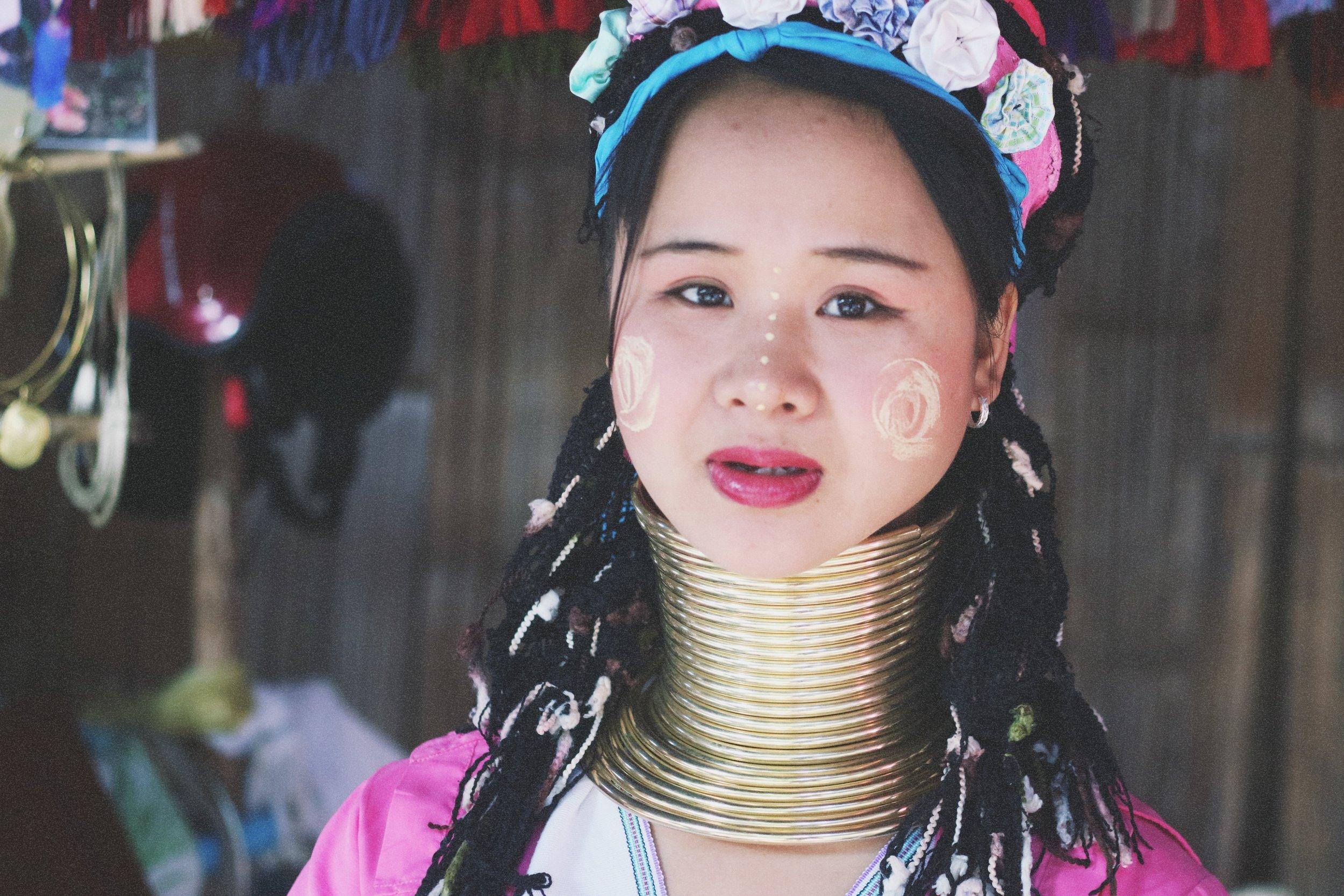 long neck karen village thailand