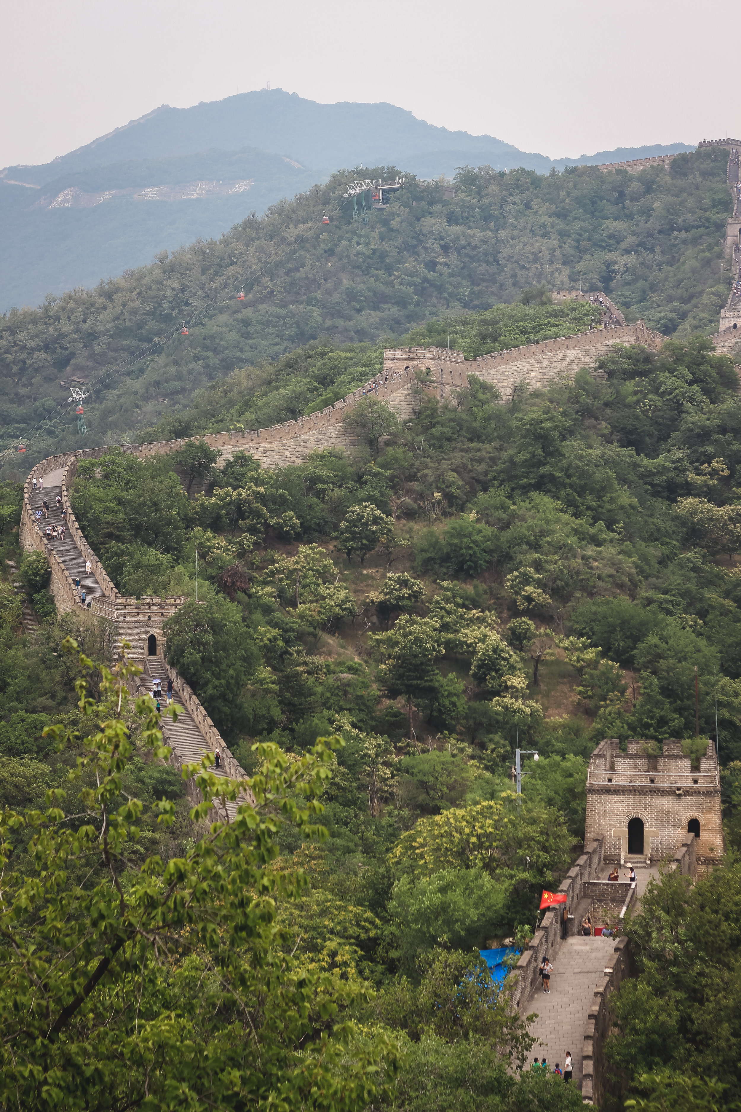 great wall of china black travel
