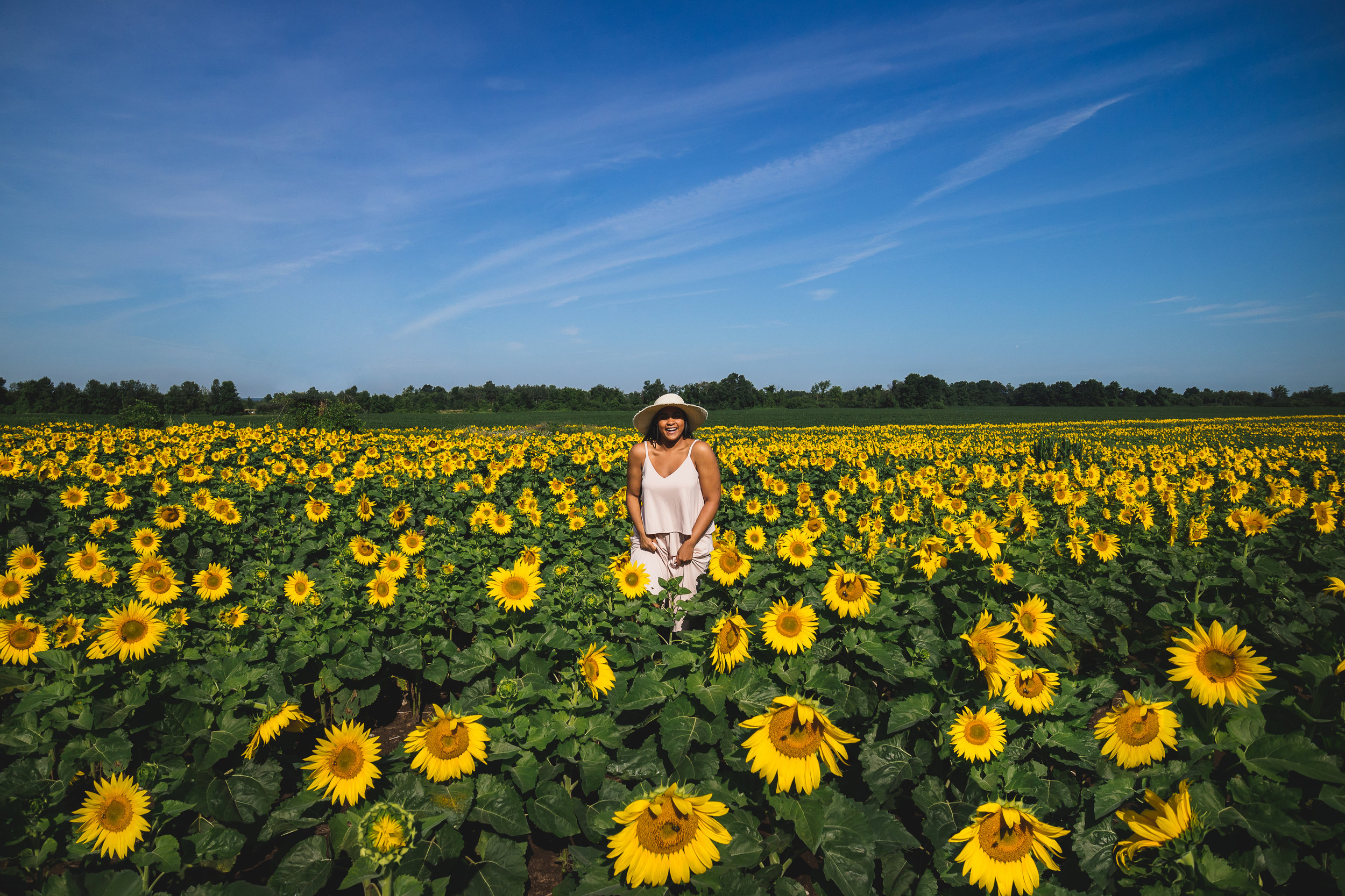 Elaisha Jade Sunflowers Ford Canada EcoSport