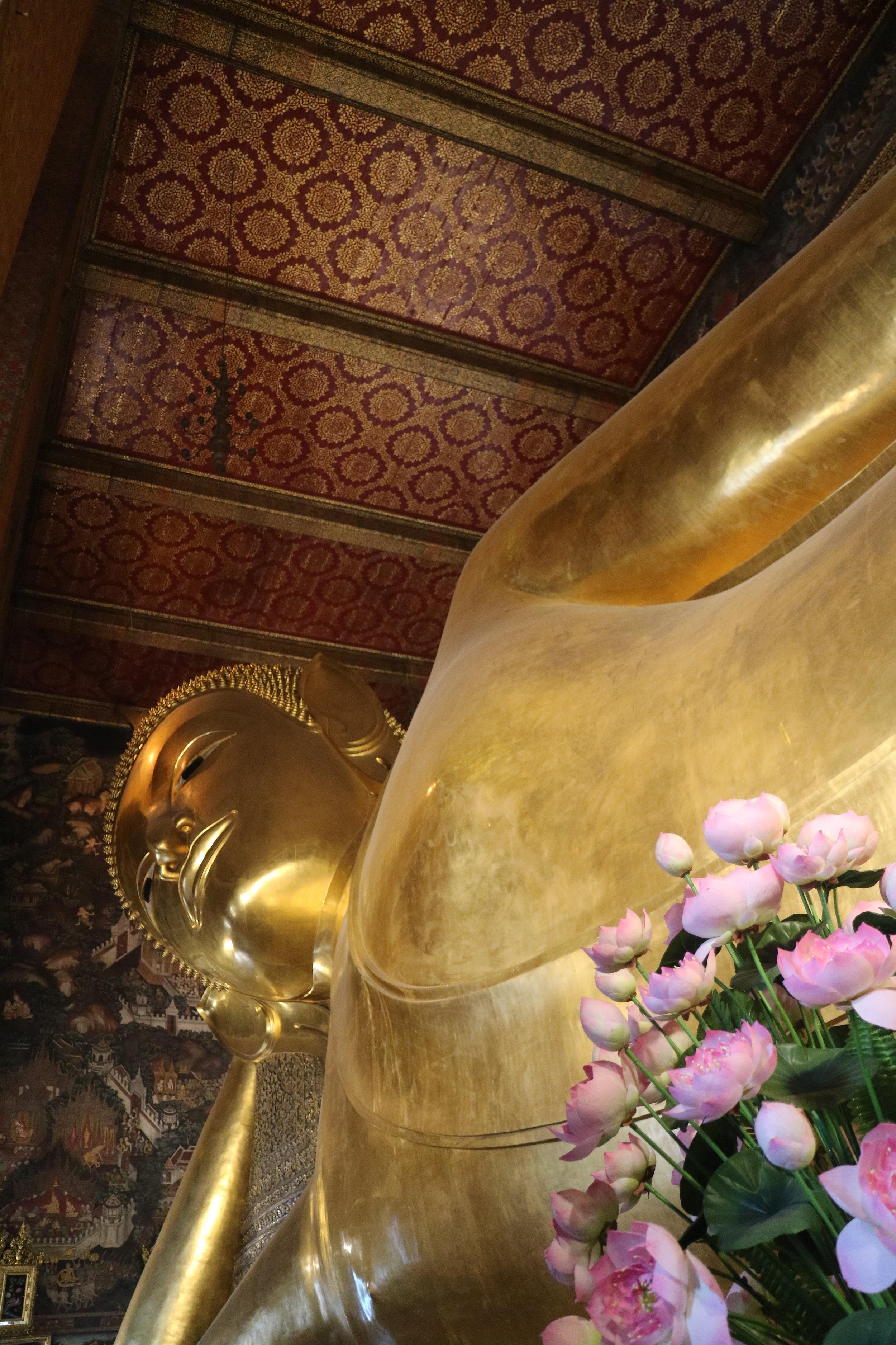 Reclining Buddha wat Po