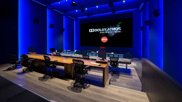 Deluxe Toronto state of the art mix stage sound mixing