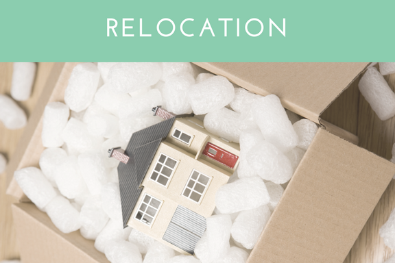 RELOCATION ORGANIZATION  Are you planning a relocation and need help with packing up, or have already moved and need help unpacking and getting situated in your new space? Our team is here to help you make the transition. Our  RELOCATION  service includes: acquiring moving supplies, packing and unpacking,as well as making moving arrangements.