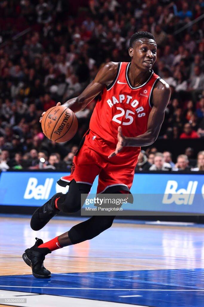 Chris Boucher, Toronto Raptors, (NBA) -