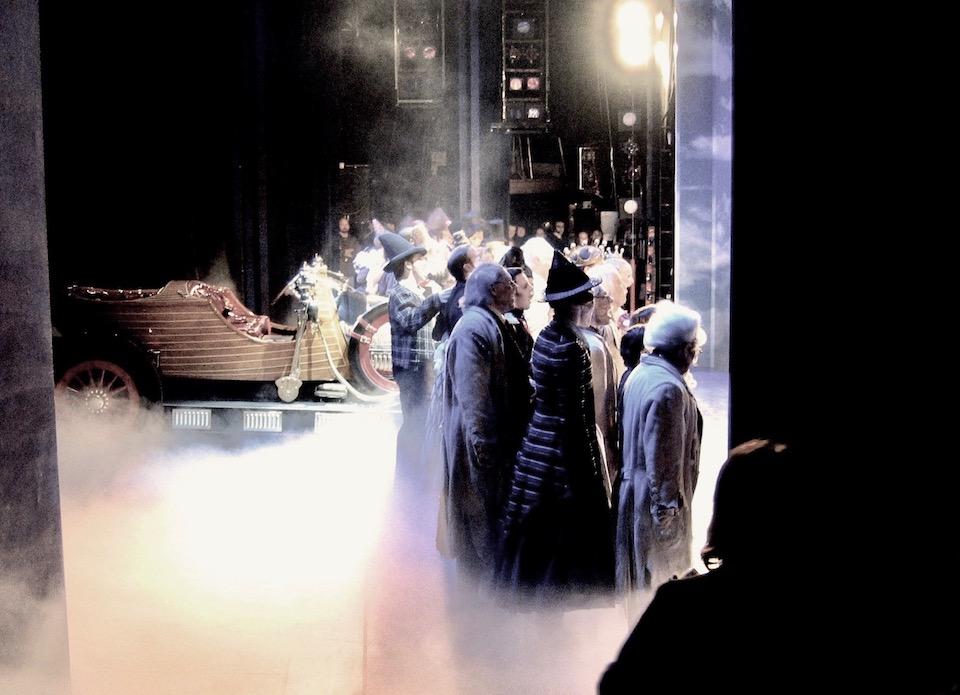 Chitty Chitty Bang Bang - Broadway NYC - Closing night curtain call 2005