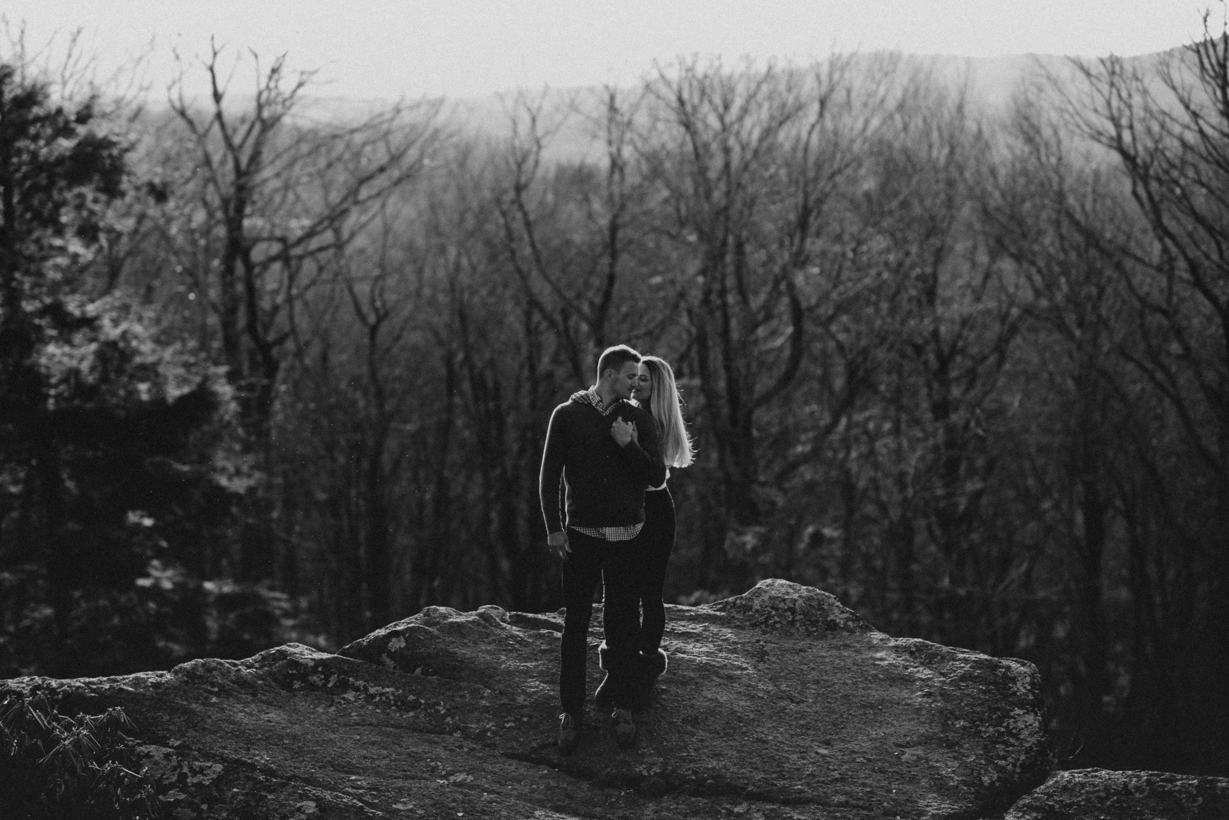 John & Iris - We had an absolute blast with these two up in the mountains of Western North Carolina (Boone & Blowing rock). We started in the town and then made our way to Moses Cone and a cliff spot on the Blue Ridge Parkway. Super thankful to have met these awesome people and to be able to capture their love for each other.