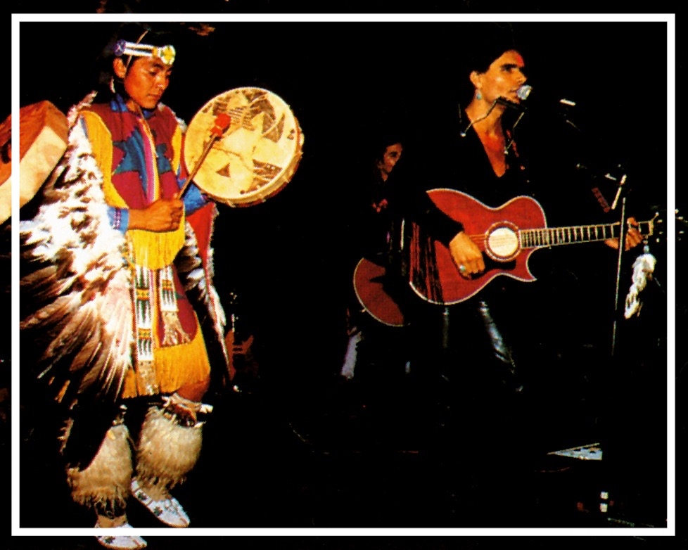 Robby Romero The 1993 International Year for the World's Indigenous Peoples Concert Roxy Concert.jpg